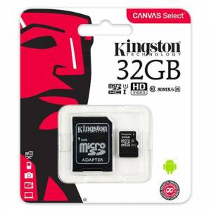 Kingston 32GB Micro SDHC UHS-1 CL10 SDCS/32GB