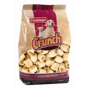 Flamingo Crunch Köpek Ödül Bisküvisi Mini Crockies 500gr 3adet