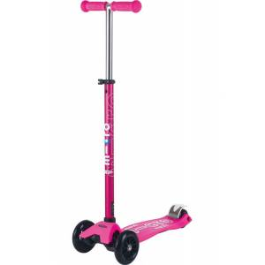 Micro Maxi Deluxe Scooter Shocking Pink