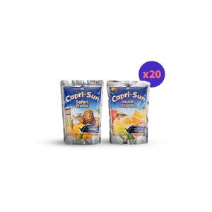Capri Sun Safari ve Multivitamin Meyve Suyu 200 ml