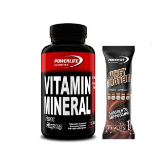 Powerlife Vitamin Mineral 150 Table + Whey Protein Hediyeli