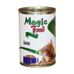 Magic Food Premium Gurme Kedi Konservesi 415 Gr