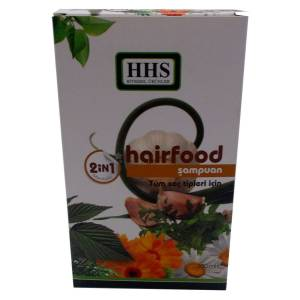 Hhs Hairfood 2 in 1 Mentollü Şampuan 350ML