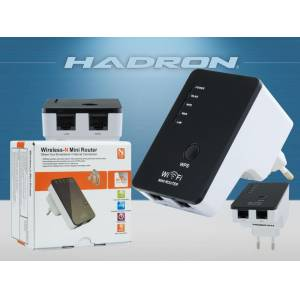 Hadron HD9101 Access Point Wireless Wifi Repeater 300Mbps