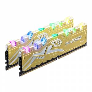 Apacer Panther Rage RGB 16GB DDR4 3000Mhz CL16 (2x8GB) Gold Gaming Ram (Bellek) - EK.16G2Z.GJMK2