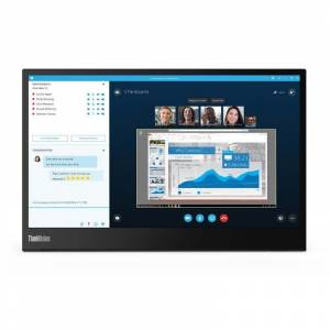 Lenovo ThinkVision M14 61DDUAT6TK 14 FullHD USB Led Monitör