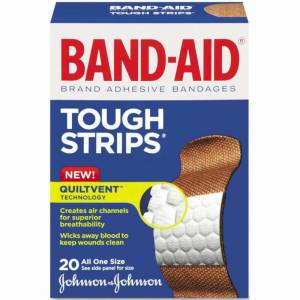 BandAid Tough Strips Yara Bandı 20li Tek Ölçü