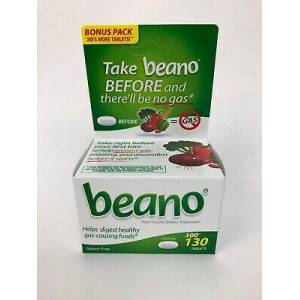 beano Helps Digest Healthy gas-causing foods (130 tablets)