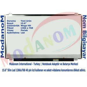 HP 15-G201NT 15-G203NT 15-G206NT Ekran 15.6 Slim Led Lcd Panel