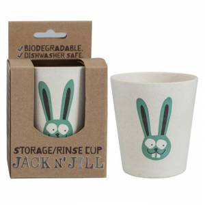 Jack and Jill Storage-Rinse Cup Bunny