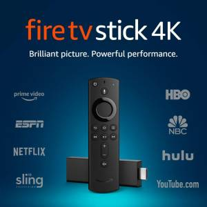 Amazon Fire TV Stick 4K Alexa Uyumlu Medya Oynatıcı Medya Player IP TV