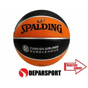Spalding EUROLEAGUE TURKISH N7 BASKETBOL TOPU
