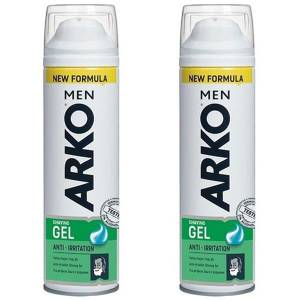 Arko Men Tıraş Jeli Anti Irritation 200 ml x 2 Adet