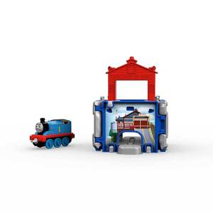 Fisher Price Thomas Adventures Mini İstasyon Seti FBC51-FBC52