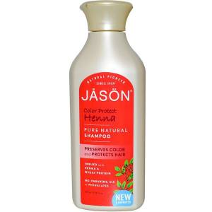 Jason Natural Color Protect Henna Shampoo 473 ml