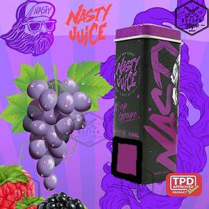 NASTY JUİCE ASAP GRAPE MIX AROMA VERİCİSİ 13 ML