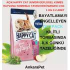 Happy Cat Junior Tavuk ve Somonlu 10 kg