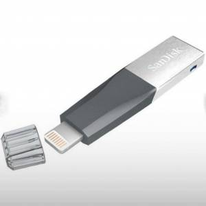 Sandisk 128GB iPhone ve iPad iXpand USB Flash Bellek SDIX40N-128G-GN6NE