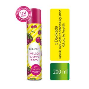 URBAN Care  Dry Shampoo HELLO Cherry Berry 200 ml
