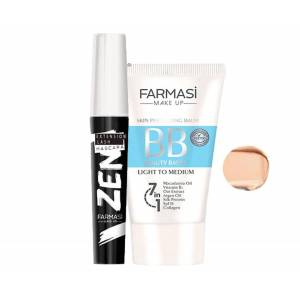 FARMASİ ZEN MASKARA - BB KREM LİGHT TO MEDİUM