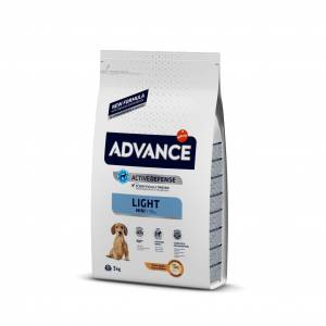 Advance Mini Light Tavuklu Köpek Maması 3 Kg