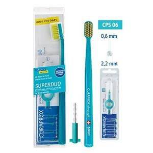 Curaprox SuperDuo Set 5460 Ultra Soft 06 mm + CPS 06 22 mm
