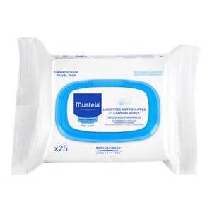 Mustela Facial Cleansing Cloths 25 Adet