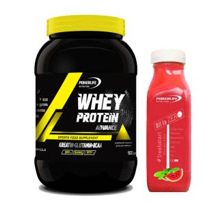 Powerlife Whey Protein Advance 900 gr Çilek Aromalı + All in Zero Hediyeli