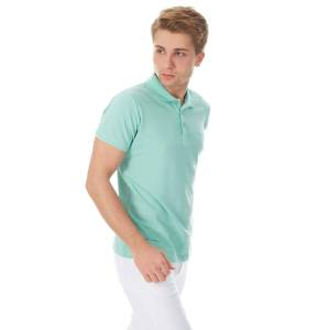 BAD BEAR BASIC PIQUE MINT POLO YAKA TSHIRT