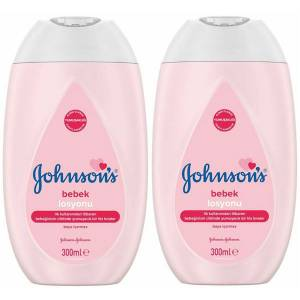 Johnsons Bebek Losyonu 300 ml x 2 Adet