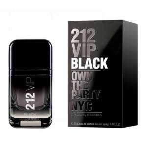 Carolina Herrera 212 Vip Men Black Edp 50 Ml