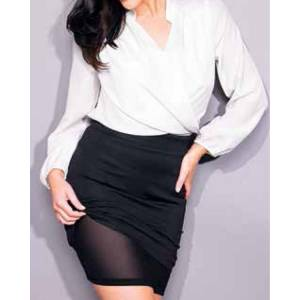 Avon Body Illiusion Pencil Skirt Etek Medium