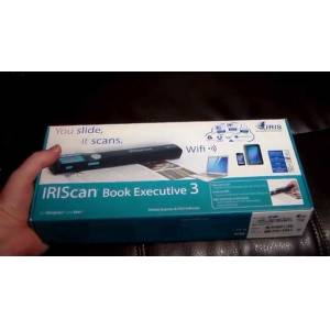 IRIScan Book Executive 3 WiFi Mobil Tarayıcı - El Taraması
