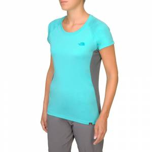 The North Face Maneuver Tee Turkuaz Mavi Kadın T Shirt T0A3W2H2H