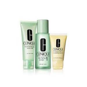 CLINIQUE 3 STEP SKIN TYPE 1 INTRO Very Dry to Dry