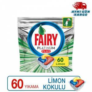 Fairy Platinum Plus Bulaşık Makinesi Tableti 60 lı