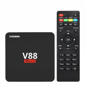 SCISHION V88 TV BOX Android 7.1 TV Kutusu 1GB RAM +8GB ROM +4K Ultra HD +WiFi +KODI Medya Player
