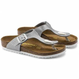 Birkenstock Gizeh Bf Magic Galaxy Gri Çocuk Terlik 847693