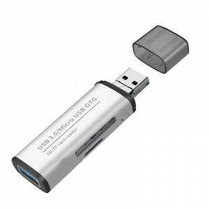 ADS-102 USB 3.0 SD Micro SD Kart Okuyucu Micro USB to SD OTG