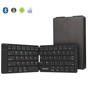 Folding Keyboard Jelly Comb Ultra Slim Foldable BT Keyboard B047