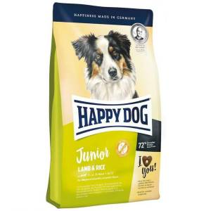 Happy Dog Junior Lamb Rice Kuzu Pirinç(7-18 ay)Köpek Maması 10 kg