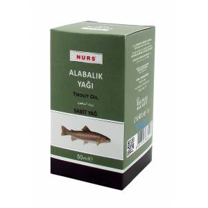 ALABALIK YAĞI 50 ML NURS