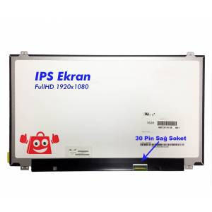 lp156wf6 sp k6 15.6 Full HD IPS Slim Led Ekran - 30 Pin - Sağ Soket Teknogold' dan