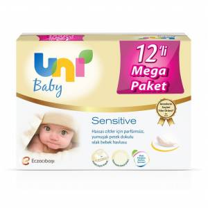 Ebebek Uni Baby Sensitive 12x56 Adet