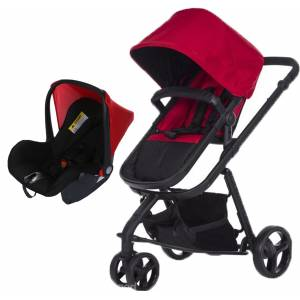 Soo Baby Crea Plus Red Travel Sistem