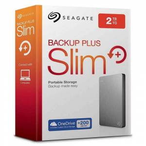SEAGATE BACKUP PLUS SLIM 2 TB 2.5