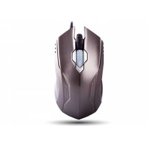 Everest SMX-308N Usb Metal Gri 6D Optik Oyun Mouse