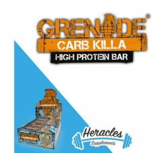 Grenade Carb Killa Protein Bar 60 Gr 12 Adet - Chocolate Chip Cookie Dough Aroma -