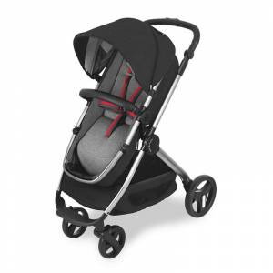 Maclaren Daytripper İki Yönlü Travel Set Bebek Arabası Black Harringbone