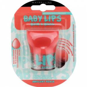 Maybelline New York Baby Lips Balm&Blush Dudak ve Yanak Balmı - 01 Innocent Peach